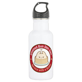 Kawaii Steamed Bun Dim Sum Stainless Steel Water Bottle