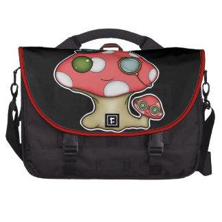 Kawaii Steampunk Mushroom Commuter Bag