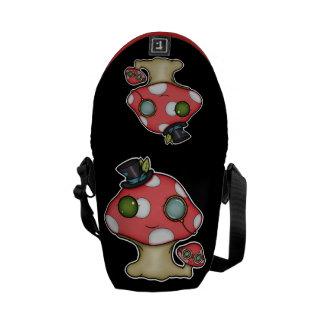 Kawaii Steampunk Mushroom Courier Bags