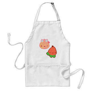 Kawaii Strawberry and Cake Apron