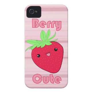 Kawaii Strawberry Berry Cute iPhone 4/4s Case