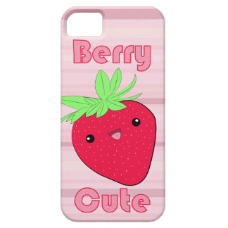 Kawaii Strawberry Berry Cute iPhone 5 Case
