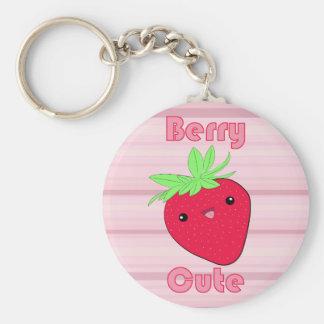 Kawaii Strawberry Berry Cute keychain