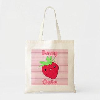 Kawaii Strawberry Berry Cute tote bag