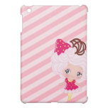 Kawaii Strawberry Delight Girl iPad Mini Cover