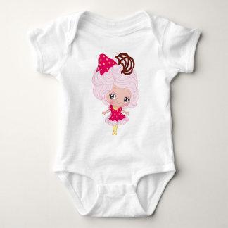 Kawaii Strawberry Delight Girl Shirt