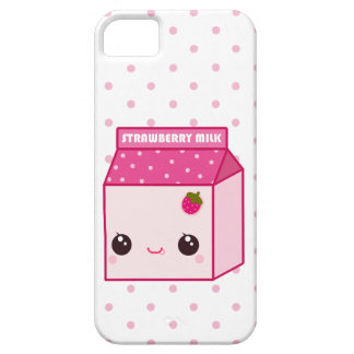 Kawaii strawberry milk carton iPhone SE/5/5s case