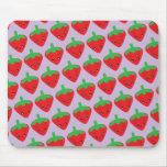 Kawaii Strawberry Mouse Pad