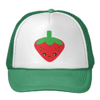 Kawaii Strawberry Trucker Hat