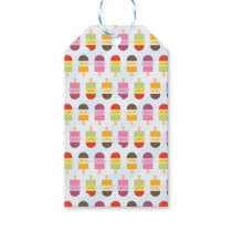 Kawaii Summer Ice Lollies / Popsicles Gift Tags