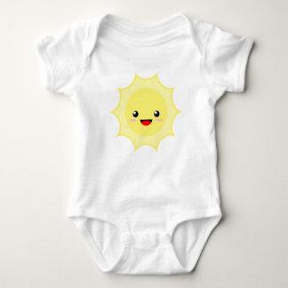 Kawaii Sun Baby Bodysuit