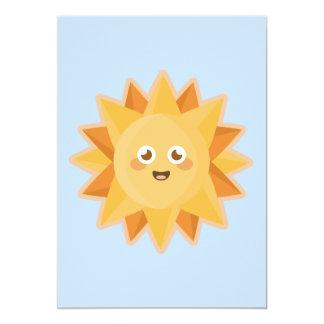 Kawaii Sun Card