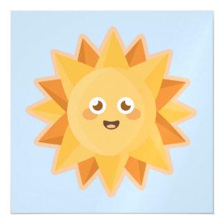 Kawaii Sun Magnetic Card
