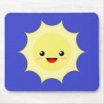 Kawaii Sun Mouse Pads