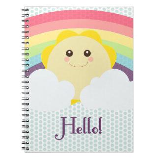 Kawaii Sun - Notebook