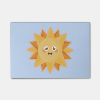 Kawaii Sun Post-it Notes