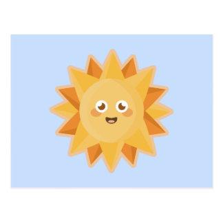 Kawaii Sun Postcard