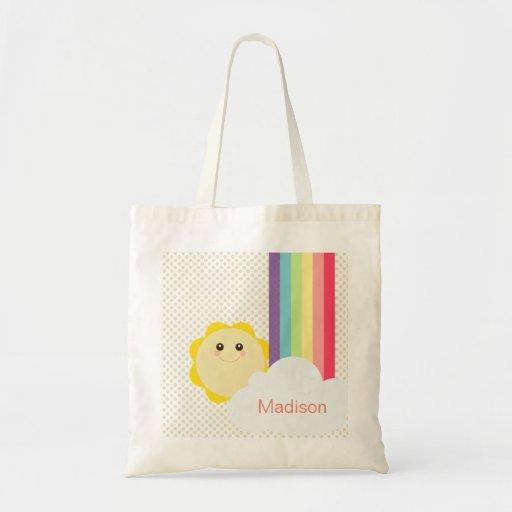 Kawaii Sun & Rainbow Eco Bag