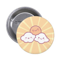 Kawaii Sunshine Button