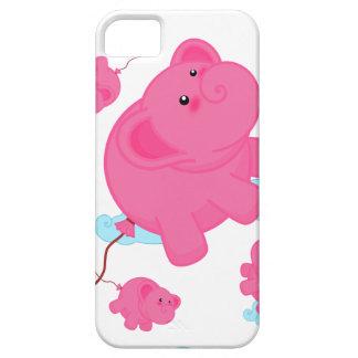 Kawaii Super Cute Flying Funny Elephant Balloon iPhone SE/5/5s Case