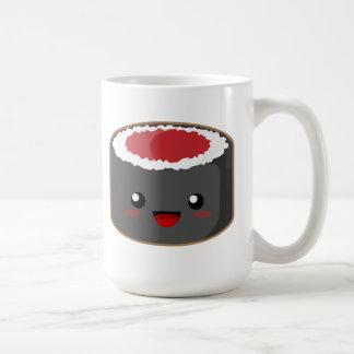 Kawaii Sushi Classic White Coffee Mug