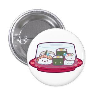 Kawaii Sushi Plate Buttons