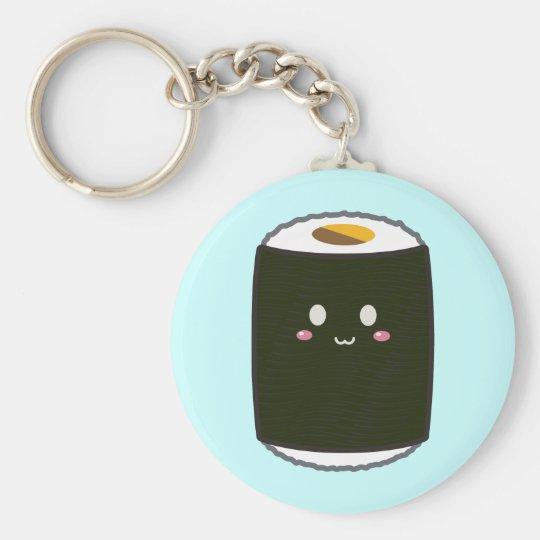 Kawaii Sushi Roll Keychain