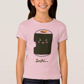 Kawaii Sushi Roll with Bitemark T-Shirt