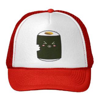 Kawaii Sushi Roll with Bitemark Trucker Hat