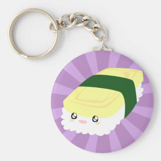 Kawaii Sushi with faces Key Chains