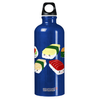 Kawaii Sushi with Faces Liberty Bottle