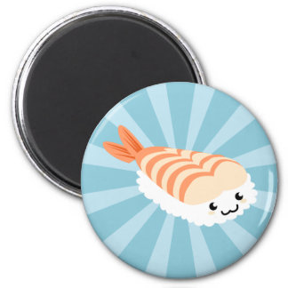 Kawaii Sushi with faces Magnet