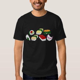 Kawaii Sushi with faces Tee Shirt