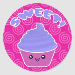 Kawaii Sweet Cupcake Stickers