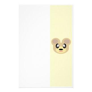 KAWAII SWEET TEDDY BEAR HONEY HAPPY FACE FRIEND STATIONERY