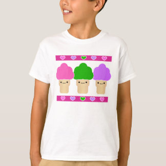 Kawaii Sweet Treats Ice Cream Trio T-Shirt