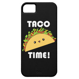 Kawaii Taco Time iPhone Case iPhone 5 Cover
