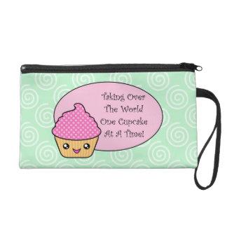 Kawaii Taking Over World Wristlet Bag