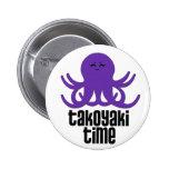Kawaii Takoyaki Time Pins