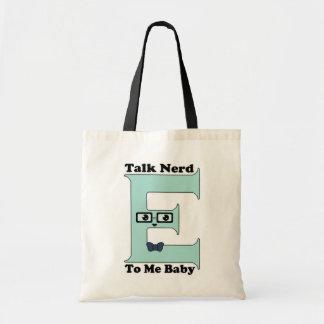 Kawaii Talk Nerdy (Nerd-E) To Me Baby Tote Bag