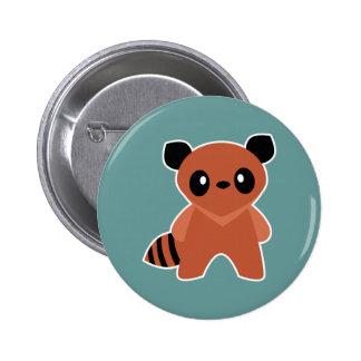 Kawaii Tanuki Pinback Button