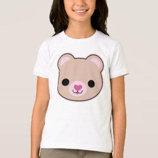 Kawaii Teddy Bear Cute Girls Ringer T-Shirt