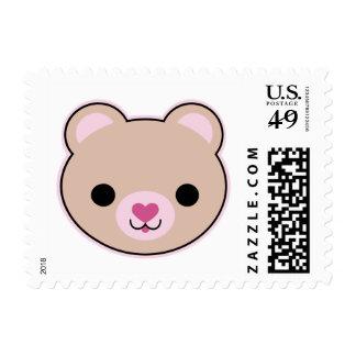 Kawaii Teddy Bear Cute Postage Small