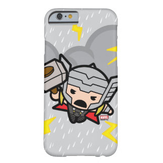 Kawaii Thor With Lightning Barely There iPhone 6 Case