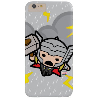 Kawaii Thor With Lightning Barely There iPhone 6 Plus Case