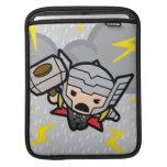 Kawaii Thor With Lightning iPad Sleeve