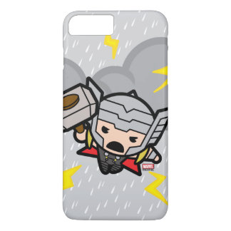 Kawaii Thor With Lightning iPhone 8 Plus/7 Plus Case