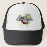 Kawaii Thor With Lightning Trucker Hat
