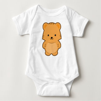 Kawaii Tiger Baby Bodysuit