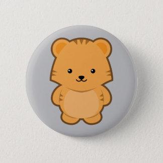 Kawaii Tiger Button